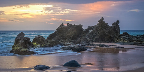 Sunset at Anson Bay - Norfolk Island