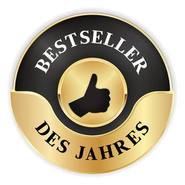 Marke für Bestseller des Jahres