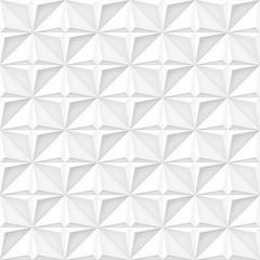 Volume realistic vector stars texture, light geometric seamless tiles pattern, design white background for you projects