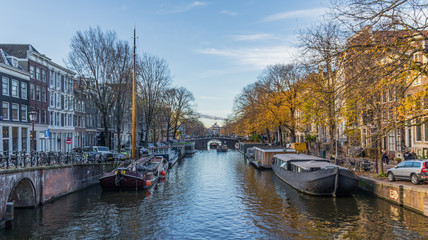 Amsterdam, Netherlands - main city and capital of the country, Amsterdam offers a splendid display of history and modernity, surrounded by the unique view of its canals