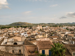 Spain, Arta, view to the city