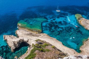 Corsica, Mediterranean coast
