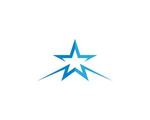 Star logo template illustration design