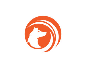Fox vector illustration icon