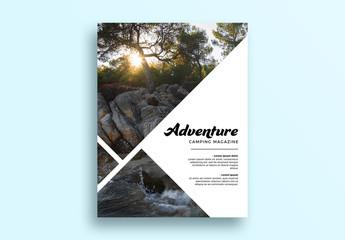 Magazine Cover Layout