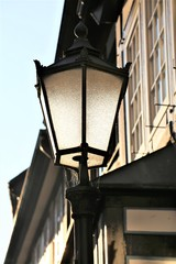 An Image of a lamp, architecture