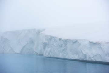 Glaciers on the Arctic Ocean in Greenland