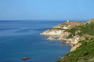 Seascape at Torre Argentina, Sardinia