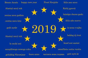 Bonne année europe
