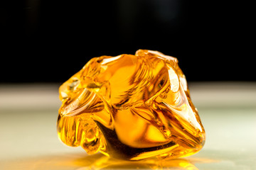 big amber stone