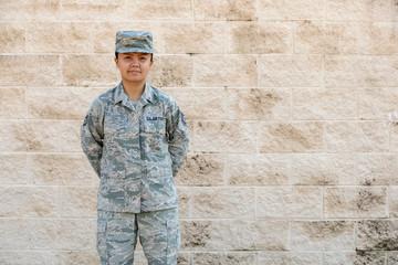 Soldier standing