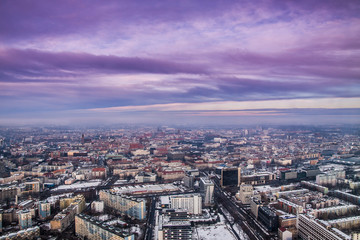 Wroclaw city panorama
