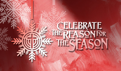 Christmas Reason For the Season Background graphic