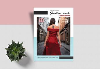 Fashion Show Flyer Layout