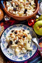 Mexican apple salad for christmas