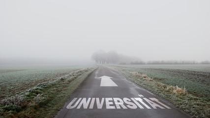 Schild 402 - Universität