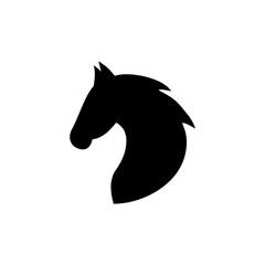 black head horse
