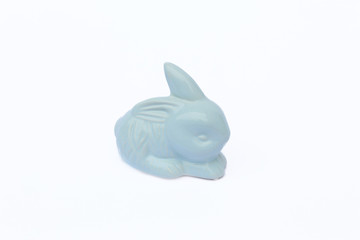 bunny plastic object decoration