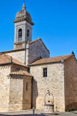 Church in San Quirico d'Orcia