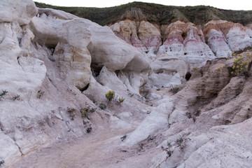 Painted Mines Colorado Geological Area Dusk