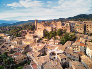 Medieval village of Bolsena in Tuscany