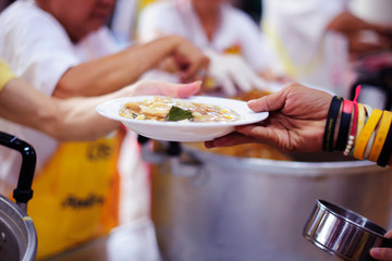 The hope of the poor is to eat food for survival in society : the concept of social inequality