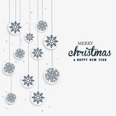 Simple christmas design for background