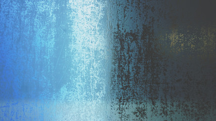 Grunge texture of black, white and blue.