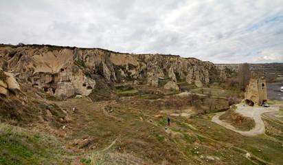 Panorami di Goreme e Uchisar, Cappadocia (Torchia)