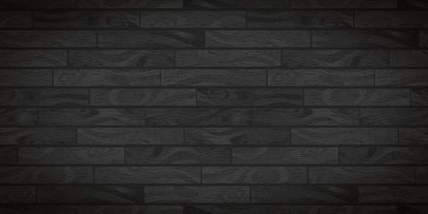 Dark wide wooden boards with texture