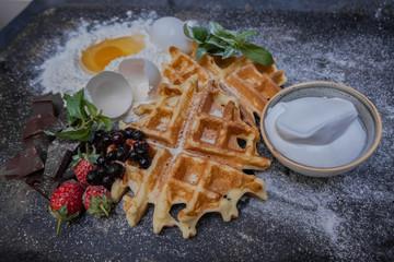 Belgian Waffle composition