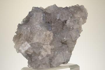 Fluorit, Spanien, Weiss, Klar, Spanien, MIneral