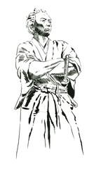 Ryouma線画ー腕組