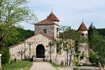 The ancient Motsameta monastery in Kutaisii, Georgia