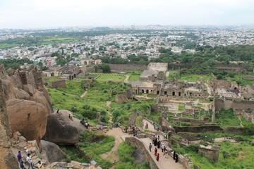 Golkonda Fort, Hyderabad, India Fototapete
