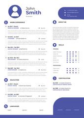 Clean Resume Portfolio