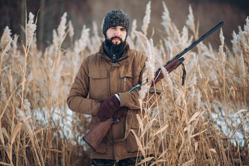 means of pest control. the practice of killing animals. close up photo. hunting on feral animals
