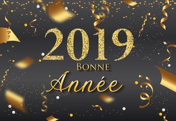 Carte de Voeux 2019 - Bonne Année