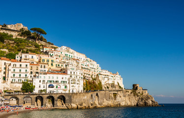 Picturesque Amalfi Coast, Italy.