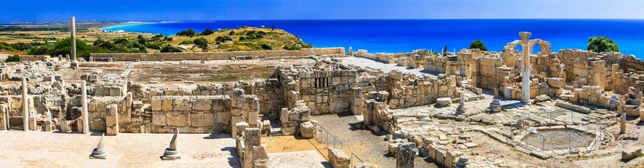 Deurstickers Cyprus Antique Cyprus - ruins of ancient temples in Kurion
