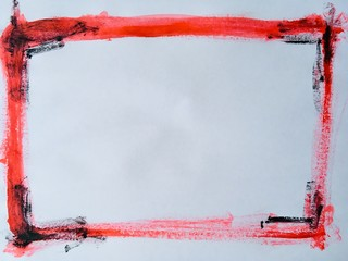 red, abstract, texture, paint