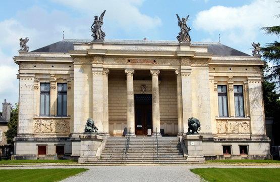 Ville de Laval, musée des Beaux-Arts, département de la Mayenne, France