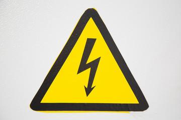 sign electricity, danger, voltage