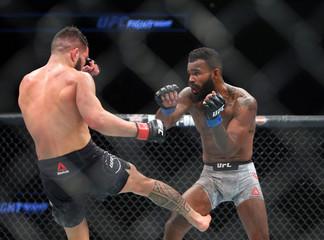 MMA: UFC Fight Night-Milwaukee-Ige vs Griffin