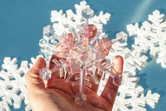 Icy Snowflake Decorating Series