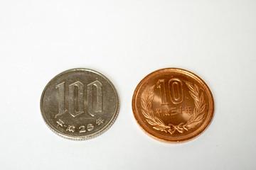 10%に上がる日本の税金110円