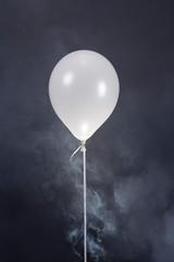 Balloon and smoke