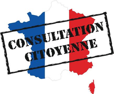 panneau consultation citoyenne