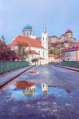 Saint Ignatius church and basilica in Esztergom, Hungary