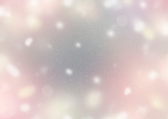 Abstract background Defocused Spots Light colors pastel gray purple yellow snow sun glare Merry Christmas and happy New year Valentine's birthday